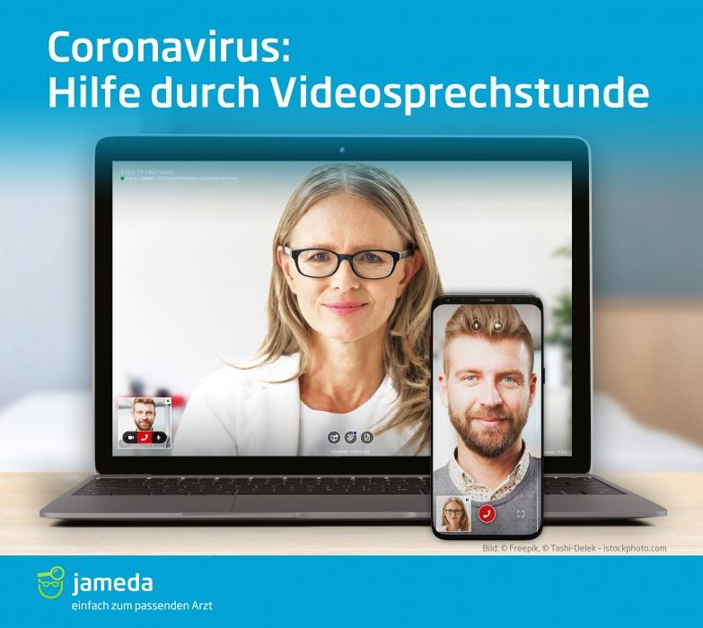 Das Risiko andere anzustecken, kann durch die Videosprechstunde eingedämmt werden.