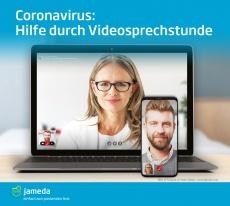 Coronavirus? Besprechen Sie Ihre Symptome mit Ihrem Arzt via Videosprechstunde!