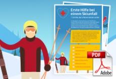 Erste Hilfe bei einem Ski-Unfall