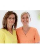 die Zahnärztinnen Dres. Uta Salomon und Katja Helmer