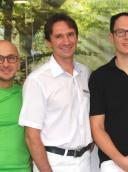 team DENTALIS Jaroslav Chrobot Christian Scholibo und Ugur Özcan