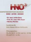 HNO 3 Kompetenzzentrum Solingen Bunz - Geyer - Meinke