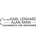 Dr. med. Karl Lenhardt und Alan Amin