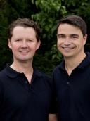 Dr. med. dent. Andreas Pelster und Luka Klimaschewski