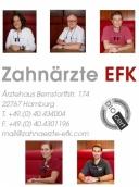 Zahnärzte EFK Dr. med. dent. Birgitt Eggers Dr. med. dent. Thomas Knackstedt und Holger Förster