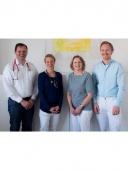 Gem. Praxis im Vital Center, Gerlinde Klust, Hans-Ulrich Braun, Yves Turbanisch und w.