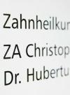 ZA Christopher Beineke und Dr. med. dent. Hubertus Remes