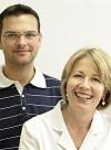 Dr. Annette Blickle und Boris Hornjak