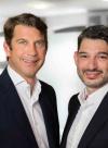 Prof. Christoph Heitmann und Prof. Hisham Fansa