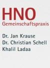 HNO Gemeinschaftspraxis Dr. J. Krause, Dr. C. Schell und K. Ladaa