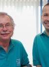 Zahnärzte am Kaufhof Rüdiger Wiskemann und Dr. Jan-Anders Karstadt